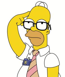 Homer glasses on!