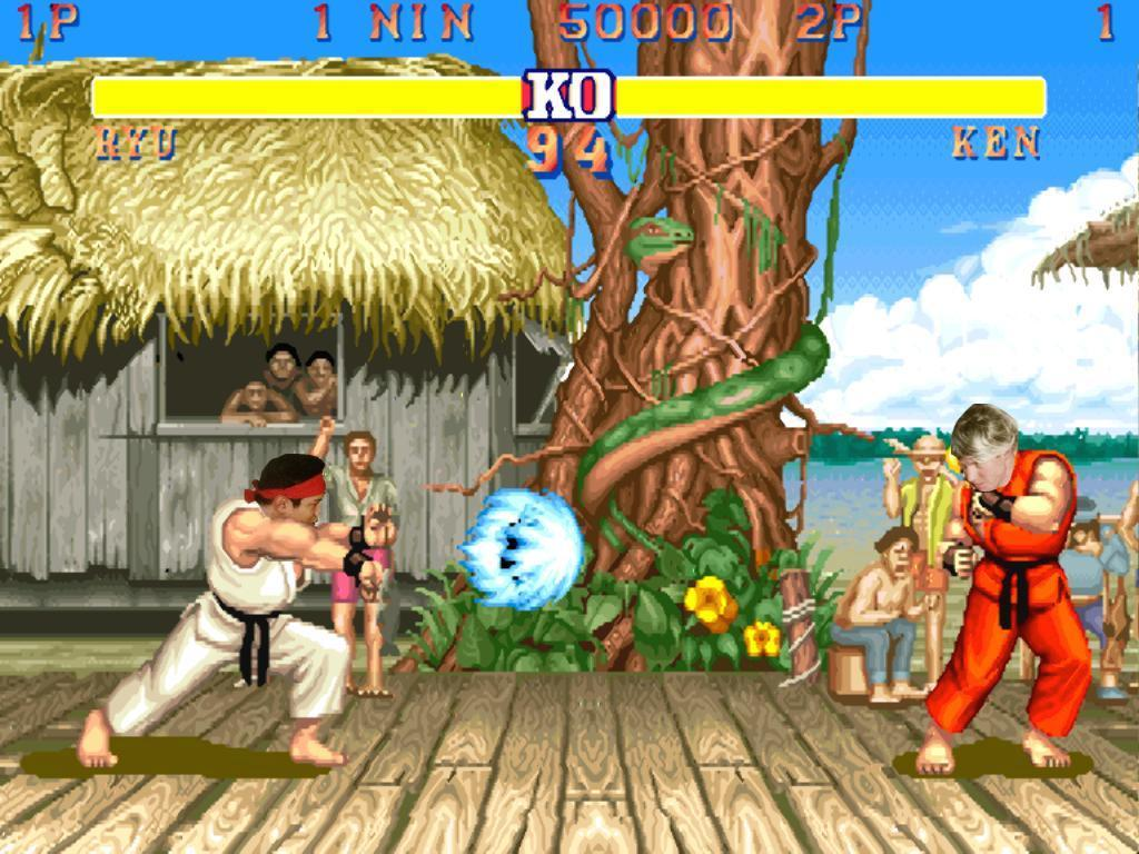 Ryu And Ken Vivid Karet